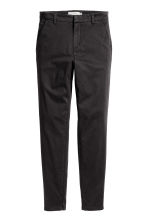 Cotton chinos - Black - Ladies | H&M 2