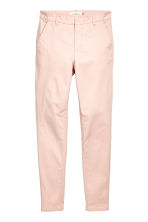 Cotton chinos - Powder pink - Ladies | H&M 2