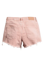 Denim shorts - Powder pink - Ladies | H&M CA 3