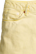 Denim shorts - Light yellow - Ladies | H&M CN 3