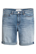 Long denim shorts - Denim blue - Ladies | H&M CA 2