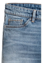 Long denim shorts - Denim blue - Ladies | H&M CA 4