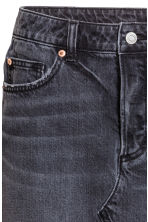 Denim skirt - Black denim - Ladies | H&M 4