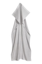 Check-weave bath towel - Light grey - Home All | H&M GB 2