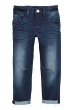 Relaxed Tapered Fit Jeans - Donker denimblauw - KINDEREN | H&M NL 2