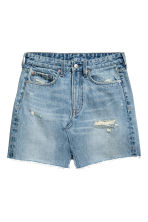 Denim skirt - Denim blue - Ladies | H&M CA 2