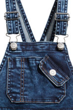 Denim dungarees - Dark denim blue - Kids | H&M 5