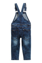 Denim dungarees - Dark denim blue - Kids | H&M 3