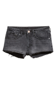 Denim short - Low waist