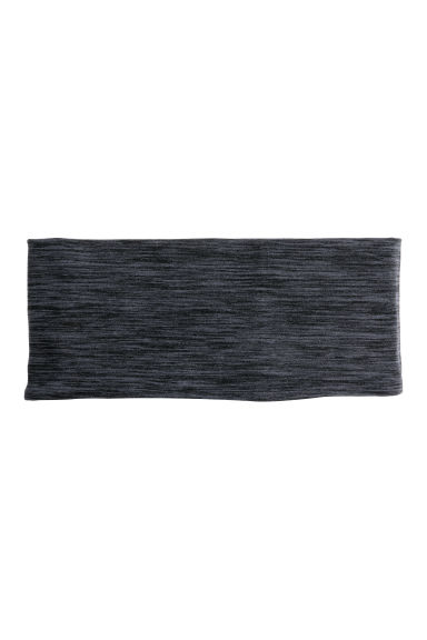 Running headband - Dark grey marl - Ladies | H&M