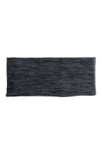 Running headband - Dark grey marl - Ladies | H&M 1