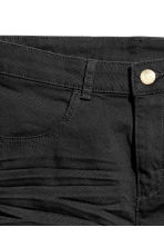 Twill shorts - Black - Kids | H&M CN 4