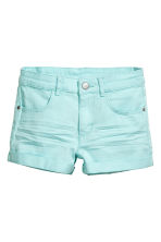 Twill shorts - Mint green - Kids | H&M CN 2