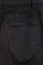 Slim High Trashed Jeans - 黑色 - Ladies | H&M CN 4