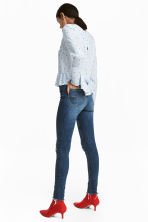 Slim High Trashed Jeans - Denim blue - Ladies | H&M CN 4
