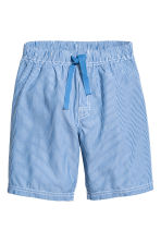 Pyjama T-shirt and shorts - Blue -  | H&M 2