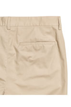 Cotton chinos Slim fit - Beige - Men | H&M 3