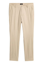 Cotton chinos Slim fit - Beige - Men | H&M CN 2