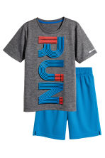 Sports Set - Dark grey/Blue - Kids | H&M CA 2