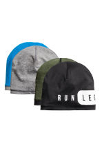 2-pack reversible hats - Black - Kids | H&M 1