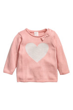 Powder pink/Heart