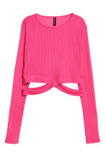Cropped jumper - Cerise - Ladies | H&M 2