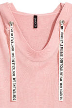 Fine-knit hooded jumper - Light pink - Ladies | H&M IE 2