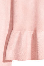 Off-the-shoulder jumper - Light pink - Ladies | H&M 3