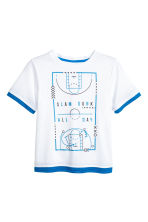 Sports top - White - Kids | H&M CN 2