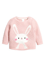 Powder pink/Rabbit