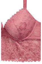 Push-up lace bralette - Dusky pink - Ladies | H&M 3
