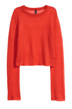 Loose-knit jumper - Red -  | H&M 2