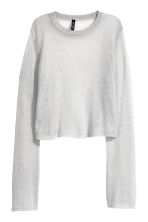 Sweater - Light gray -  | H&M CA 2