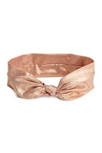 Hairband with a knot detail - Gold-coloured - Kids | H&M 1