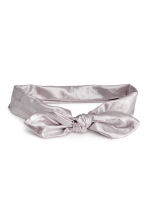 Hairband with a knot detail - Silver - Kids | H&M 1