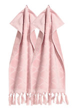 2-pack guest towels - Old rose - Home All | H&M IE 1