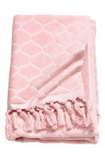 Jacquard-patterned bath towel - Light pink - Home All | H&M IE 1