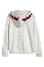 圖案連帽外套 - Light grey marl - Kids | H&M 3