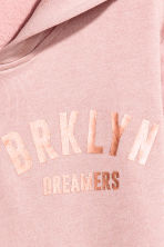 Printed hooded jacket - Dusky pink - Kids | H&M CA 4