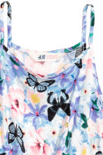 Printed dress - Purple/Floral -  | H&M CA 3