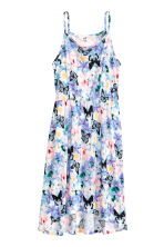 Printed dress - Purple/Floral -  | H&M CA 2