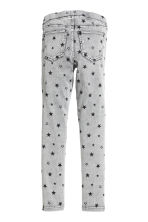 Denim leggings - Grey/Stars - Kids | H&M CN 3