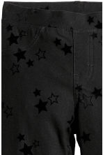Jersey leggings - Black/Stars - Kids | H&M CN 2