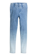 Denim leggings - Blue washed out - Kids | H&M 2