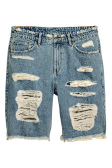Short en jean Trashed