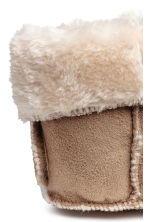 Pile-lined boots - Beige - Kids | H&M 5