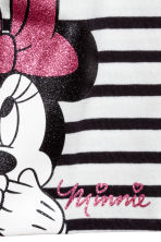 Printed jersey hat - White/Minnie Mouse - Kids | H&M 2