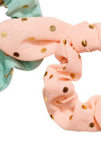3-pack scrunchies - Turquoise/Spotted - Kids | H&M 2