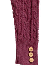 Knitted leggings - Raspberry pink - Kids | H&M 2