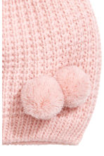 Glittery hat - Light pink/Glittery - Kids | H&M 2